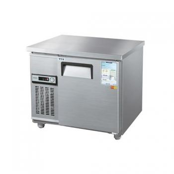 보냉테이블 900 아날로그 직접 냉각 냉장 153L 메탈