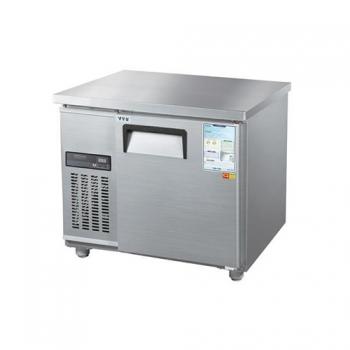 보냉테이블 900 디지털 직접 냉각 냉장 153L 메탈