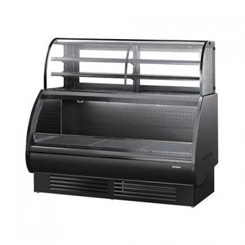 콤비 제과 쇼케이스 상부 3단 ½ 냉장 (블랙) 1800